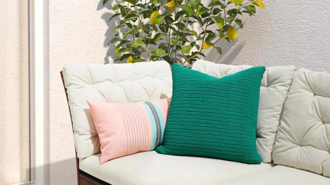 GIMGOH+ TEXTILES Home Textiles Outdoor cushions
